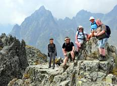 High Tatras Hut-to-Hut Trek Tour