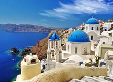 Historical Athens & Santorini (Self-guided) Tour