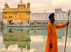 Golden Triangle Tour with Amritsar Golden Temple  Tour