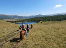4 days Horseback tour to Black lake Tour