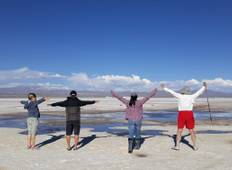 5 Days Uyuni Salt Flats and Colorfull Lagoons from  La Paz, Bolivia Tour