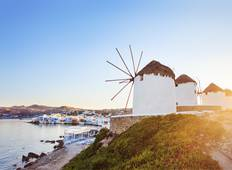 Island Hopping in Greece including Athens-Mykonos-Santorini-Ios (Self-guided) Tour