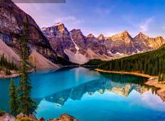 Spectacular Canadian Rockies (including Banff National Park) Tour
