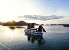 2 Nights Perla Dawn Sails Halong Bay plus Hanoi and Trang An Tour