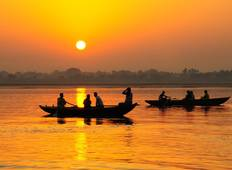 Cruise on the Ganges: The Sacred Waters between Kolkata and Varanasi (port-to-port cruise) Tour