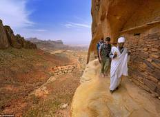 Visit the amazing landscape and rocked churches of Gheralta,Ethiopia     Tour