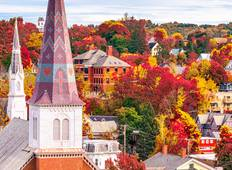 Charming New England: Fall Foliage Tour