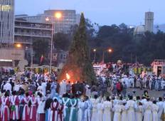 Travel in Ethiopia  to participat Maskel (the Finding of the True Cross) Celebration  Tour