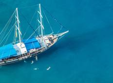 All Inclusive Rhodes Gulet Cabin Charter Tour