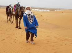 Overnight Trip in Merzouga Desert: Start in Marrakech & end in Fes Tour