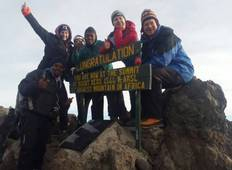 Mount Meru climb (4 days on trek) - International group departure Tour