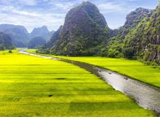 2-day Luxury Ninh Binh: Hoa Lu - Mua Cave - Tam Coc and Cuc Phuong national park Tour