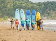 3 Days Surf Lessons at Jaco Tour