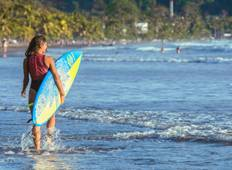 3 Days Surf Guiding at Jaco Tour