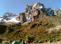 5 Days Mount Kenya Safari Trekking in Sirimon Route Tour