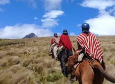 Ecuador Volcano Horseback Ride - 5 Days Tour