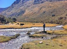 The Mini Huayhuash Trek in Andes Cordillera (Private Group) Tour