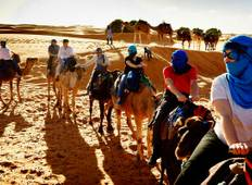 Experience the Nomadic life style in 7 days Camel Trekking At Desert Morocco Tour