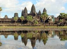 Cambodia Tour of Highlights to Siemreap with Angkor Wat and Phnom Penh Tour