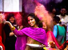 Colourful India with Nepal Celebrate Holi Tour