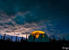 Alaska Borealis Basecamp Northern Lights Package (with Airport Transfers) Tour