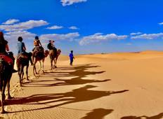 From Fes to Marrakesh Desert experience ( Luxurious desert camp ) Tour