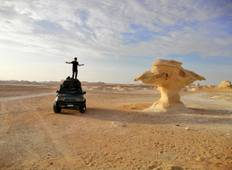 Cairo : 3 Days Bahariya Oasis + Camping in the white desert with Round Trip Transfers  Tour