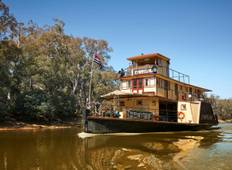 4 Night Upper Murray Explorer Cruise - 2 Adults Sharing Tour