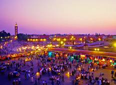 6 Days Private tour from Tangier to Casablanca visiting Chefchouan, Fes & Marrakech Tour
