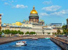11 days St.Petersburg-Moscow Tour