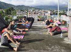 4 days Yoga Retreat and Hiking in Nepal Tour