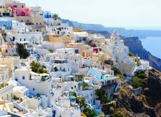 9 Day Greek Islands Holiday Package: Athens, Mykonos with Delos Cruise, Tour in Santorini & Cruise to Volcano Tour