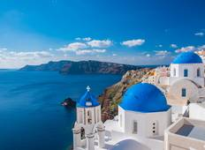9 Day Greek Islands Holiday in  Mykonos & Santorini with Cruise to Volcano & Cruise to Delos Tour