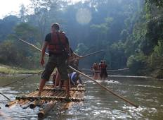 Chiang Mai Hill Tribe, Elephant and Bamboo Rafting Tour