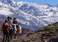Jbel Toubkal summer ascent 4 days Tour