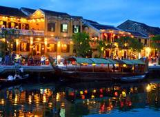 Hoi An Ancient Town with lantern and basket boat tour 4D3N Tour