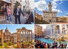 Rome and Tuscany Highlights + Unique Experiences and Wine Tastings  Tour