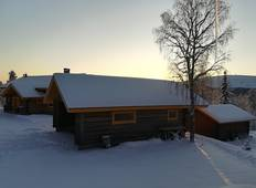All inclusive Winter holiday in 370m2 Lappish logwood Villa Tour