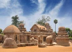 South India Tour Package with Chennai, Kanchipuram, Mahabalipuram, Pondicherry, Thanjavur, Trichy  including meals Tour