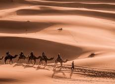3 days 2 Nights Shared Merzouga Desert Tour overnight in luxury camp Tour