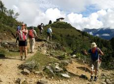 7 days Druk Path Camping Trek in Bhutan Tour
