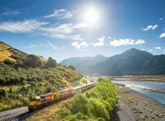 West Coast Glaciers and Scenic TranzAlpine Train - 3 Days Tour