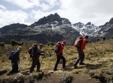 6 Days Mount Kenya Climbing Through Sirimon Down Naromoru Route  Tour