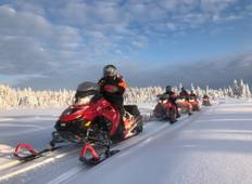 Arctic Snowmobiling Expedition: Swedish Border Adventure Tour