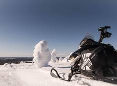 Arctic Snowmobiling Expedition: Russian Border Adventure (Private Tour) Tour