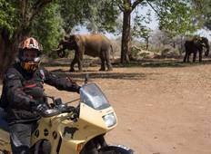 Exciting  Motorcycle  Zambia-Botswana holiday safari tour: 24 Days (14 days of motorcycle riding) Tour