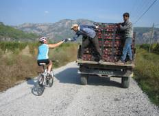Cycling from Fethiye to the river delta of Dalyan  Tour