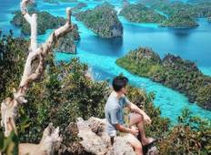 4 Days Misool Raja Ampat Tour: Love Lagoon, Jellyfish Lake to Keramat Cave Tour