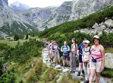 Walking in the  High Tatras from Bratislava Tour