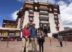 5 Days Lhasa Group Tour With Ganden Monastery Tour
